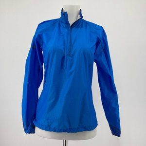 Mountain Hardwear Womens Jacket Blue Windbreaker